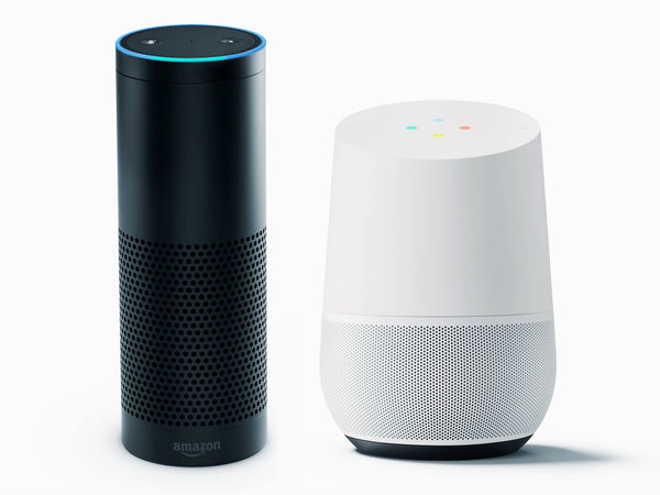 google home amazon alexa digital assistant