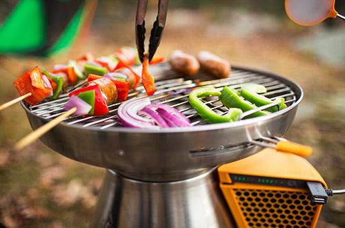 BioLite portable grill - great for camping