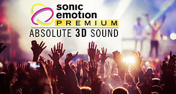 Immersive sound with sonic emotion