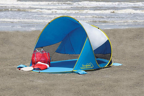 Texsport Coco Point Pop-up Cabana in Blue