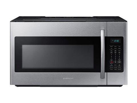 Samsung 1.8 Cu. Ft. Over-the-Range Microwave with Sensor Cooking in Fingerprint-Resistant Stainless Steel