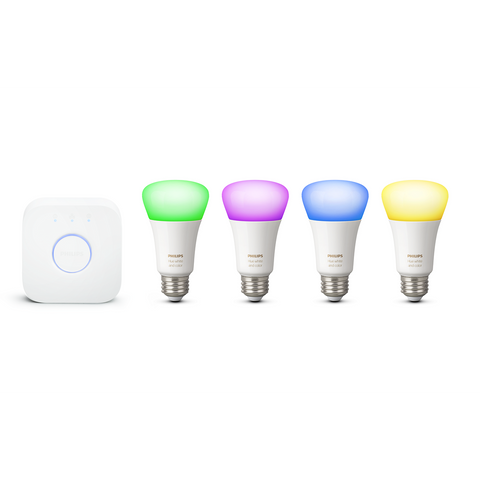 Philips Hue White and Color Starter Kit E26
