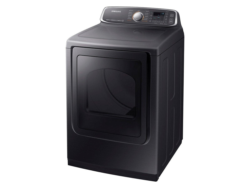 Samsung Energy Star® Certified 7.4 Cu. Ft. Electric Dryer in Black Stainless Steel
