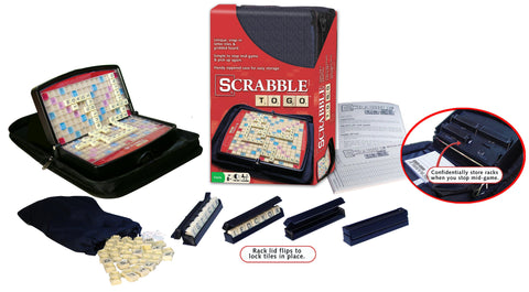 Scrabble To Go Ages 8+ Years