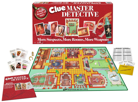 Clue Master Detective Board Game Ages 10+ Years