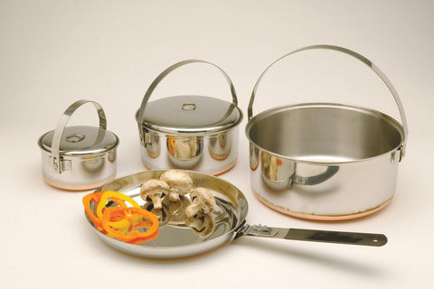 Texsport Family Stainless-Steel Camping Cook Set