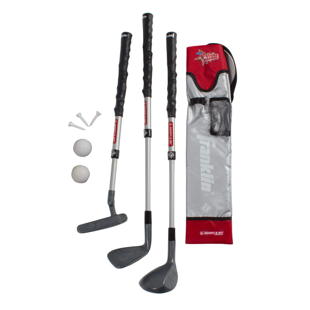 Youth Golf Set Gray/Red