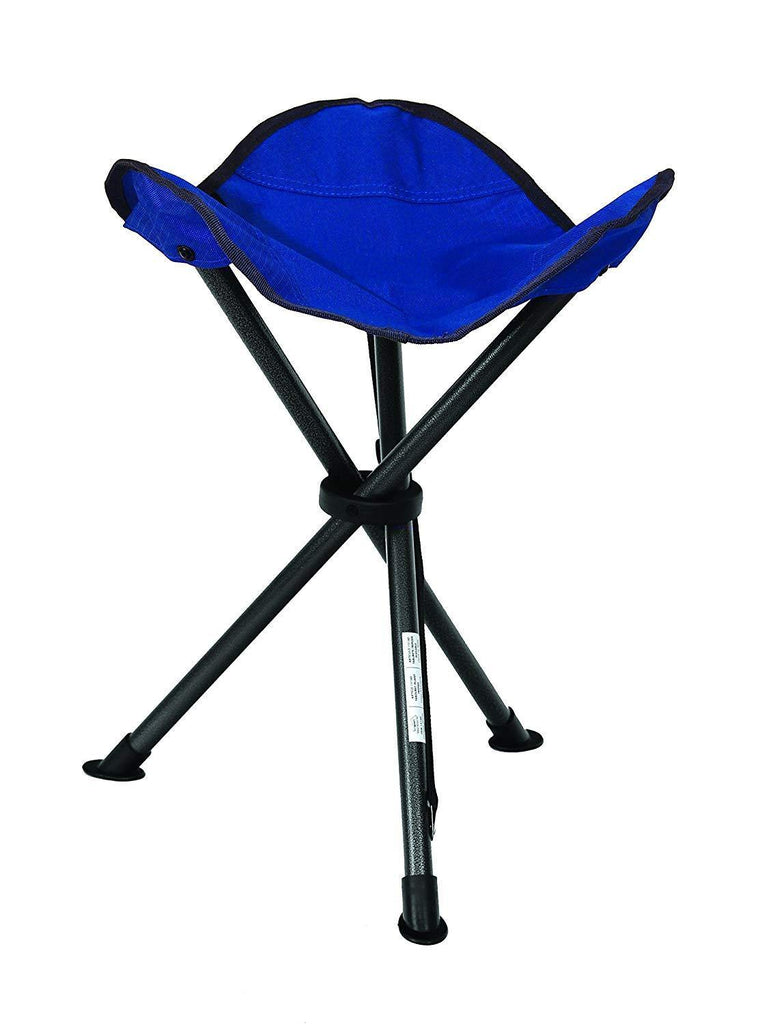 Texsport Folding Tripod Stool in Marine Blue