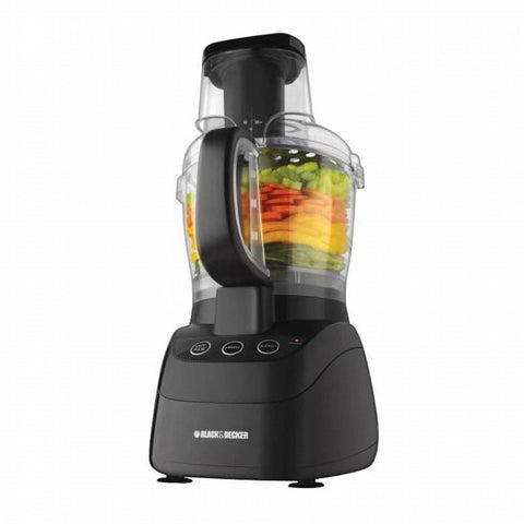Black & Decker PowerPro Wide Mouth 10-Cup Food Processor