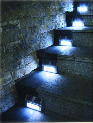 Nature Power Solar Step Lights – 2 Pack