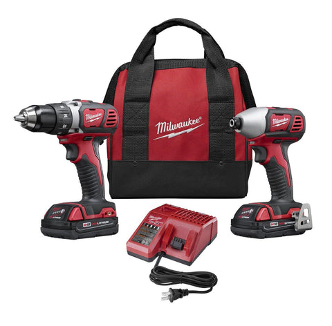 Milwaukee Lithium Drill and Impact Driver Kit
