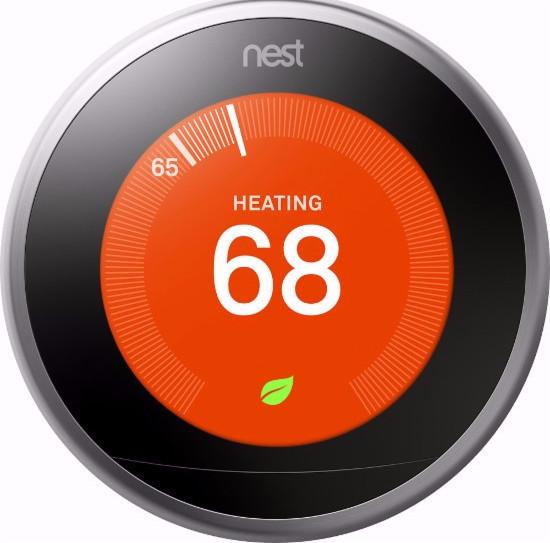 Nest Learning Thermostat 3rd Generation (Silver)
