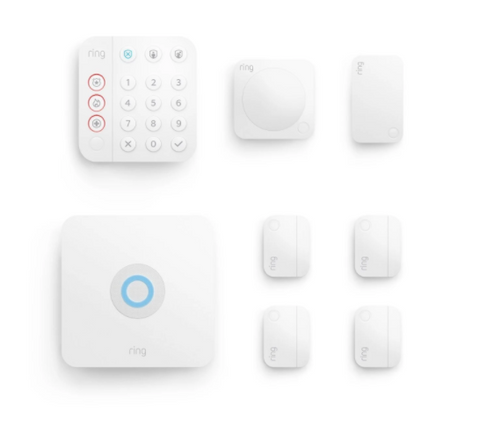 Ring Alarm Security Kit 2.0 - 8 Pieces