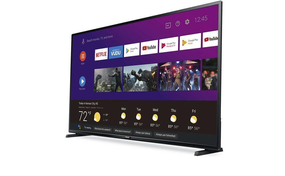 "Philips 50"" UHD Smart 4K TV with Google Assistant"