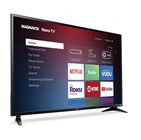 "Magnavox 55"" 4K Ultra HD Roku TV - Smart Neighbor"