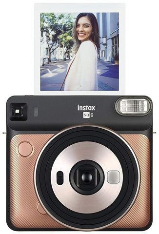 FujiFilm Instax Square SQ6 Camera with 10-count Film