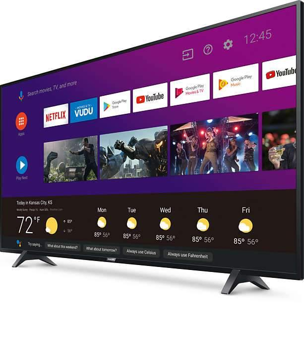 "Philips 43"" 4K UHD TV"