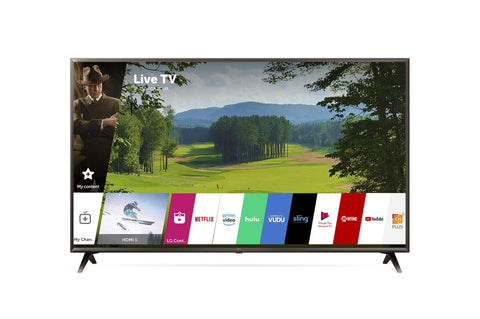 "LG 55"" 4K HDR Smart LED UHD TV w/ AI ThinQ®"