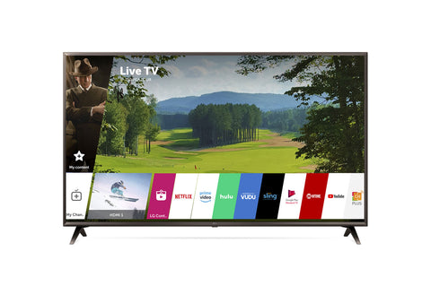 "LG 65"" 4K HDR Smart LED UHD TV w/ AI ThinQ®"