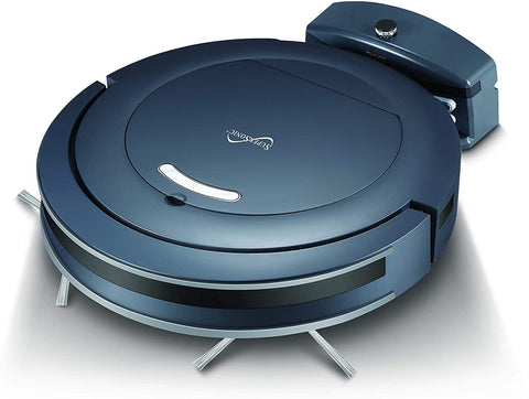 SuperSonic SC-860SV Thin Robot Vacuum Cleaner with Automatic Charging Dock Alexa Enabled
