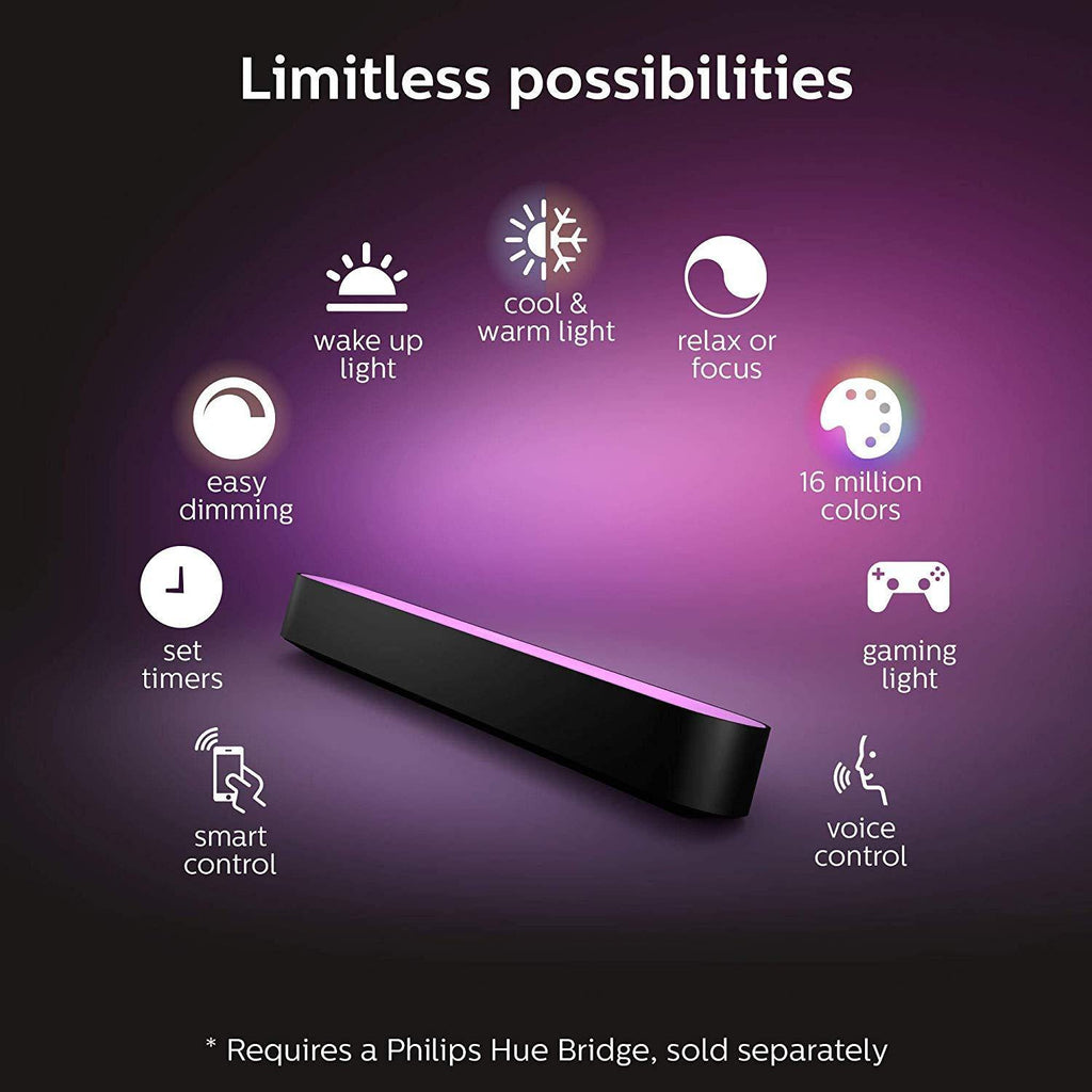 Philips Hue Play White And Color Ambiance Light Bar Single Pack - Smart Neighbor