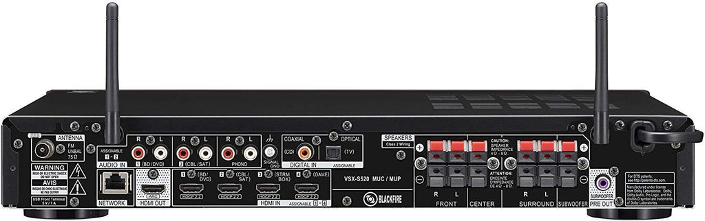 Pioneer 5.1-Channel Slim Network AV Receiver