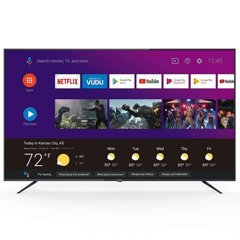 "Philips 75"" Smart 4K Ultra HDTV"