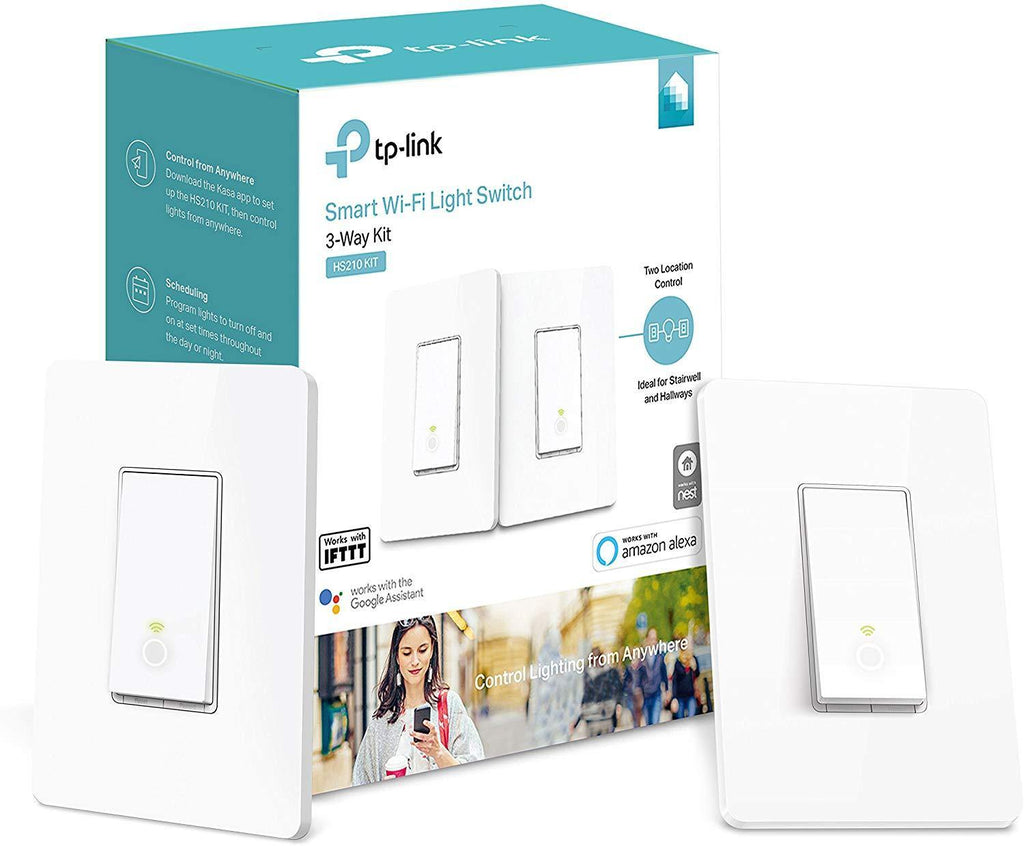 Kasa Smart Wi-Fi Light Switch, 3-Way Kit