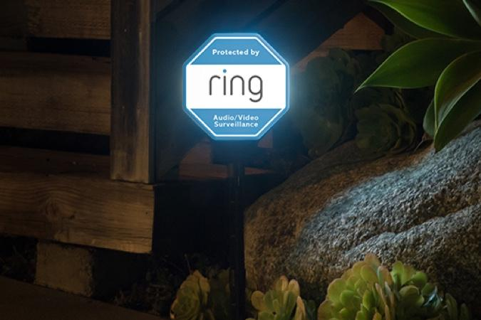 Ring Solar-Powered Yard Sign
