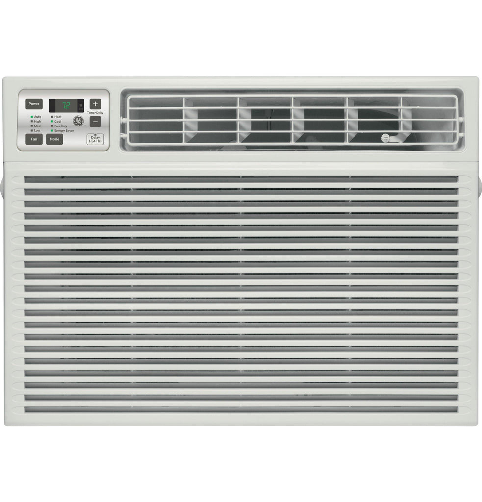 GE® 24,000 BTU Electronic Heat/Cool Room Air Conditioner