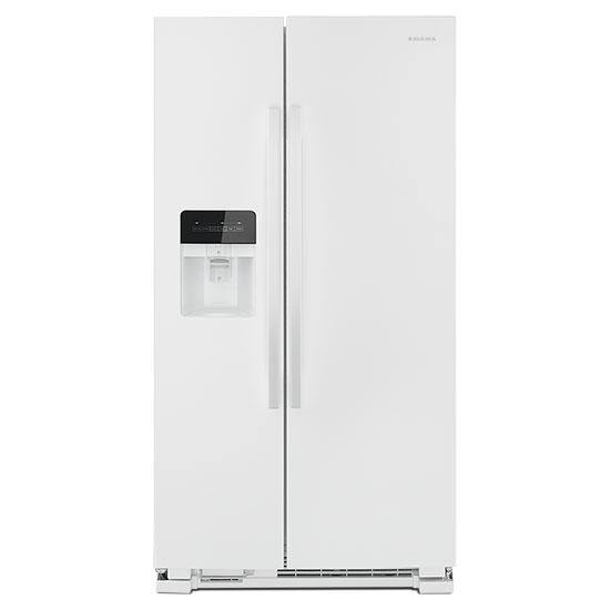 Amana 25 Cu. Ft. Side-by-Side Refrigerator