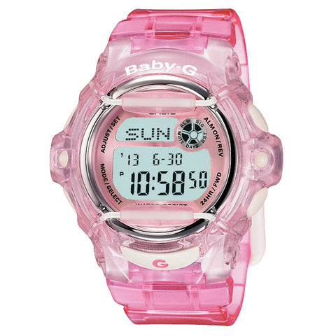 Casio Baby G-Ladies Vivid Color Gloss Watch