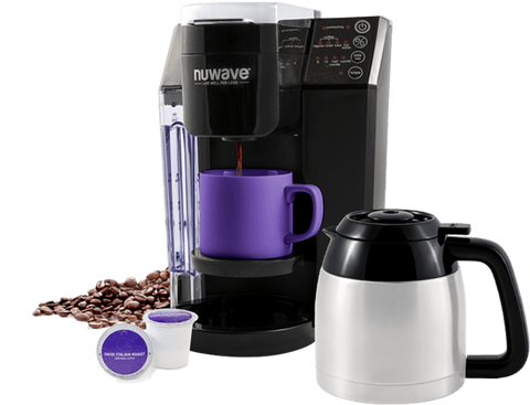 Nuwave Bruhub 3 in 1 Coffeemaker W/ Stainless Carafe