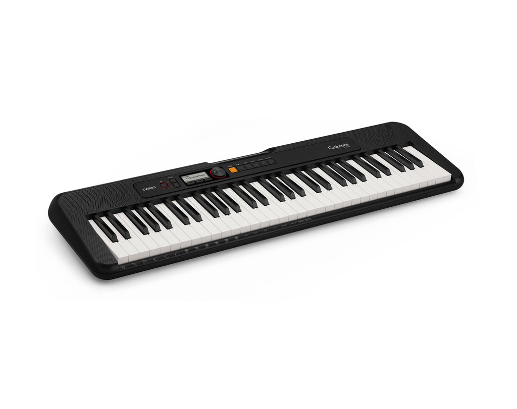 Casiotone 61 Key Portable Keyboard Black