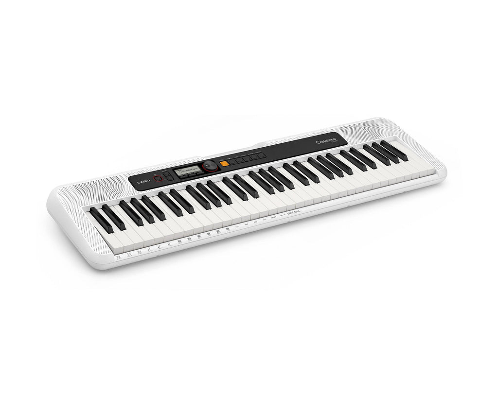 Casiotone 61 Key Portable Keyboard White