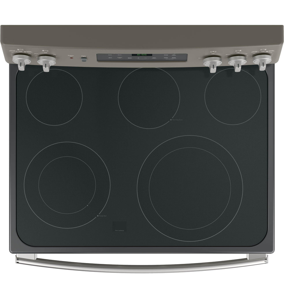 "GE® 30"" Freestanding Electric Convection Range"