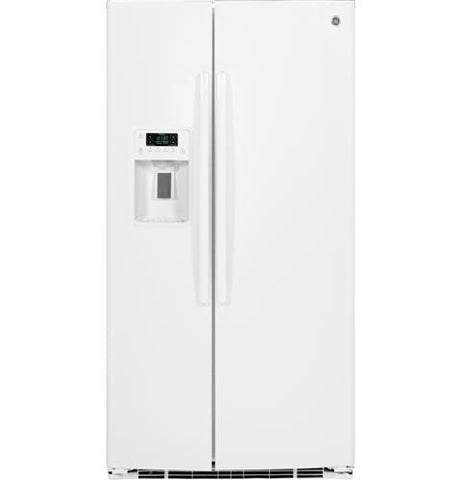 GE 25.4 Cu. Ft. Side-by-Side Refrigerator with Dispenser