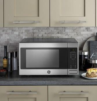 GE® 1.6 Cu. Ft. Countertop Microwave Oven - Smart Neighbor