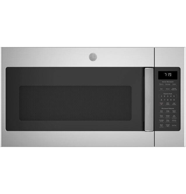 GE® 1.9 Cu. Ft. Over-the-Range Sensor Microwave Oven Stainless Steel