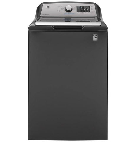 GE® 4.6 cu. ft. Capacity Washer with Sanitize w/Oxi and FlexDispense™ - Smart Neighbor