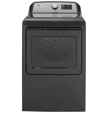 GE® 7.4 cu. ft. Capacity aluminized alloy drum Electric Dryer with HE Sensor Dry - Smart Neighbor