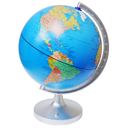 Edu-Toys 11-Inch Dual-Cartography LED Illuminated Globe