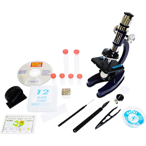 Edu-Toys 100X-900X Zoom Microscope Set
