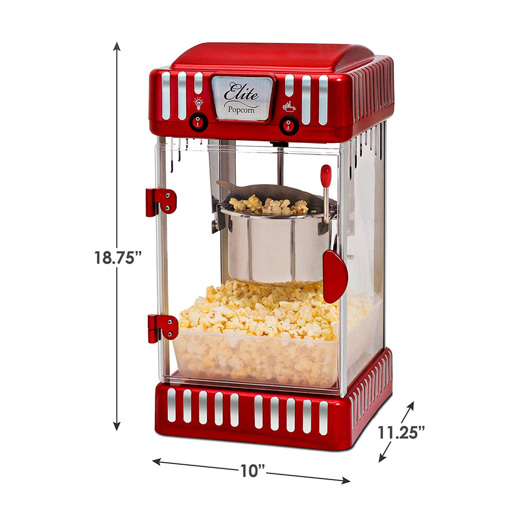 Elite Classic 2.5 Ounce Kettle Popcorn Maker