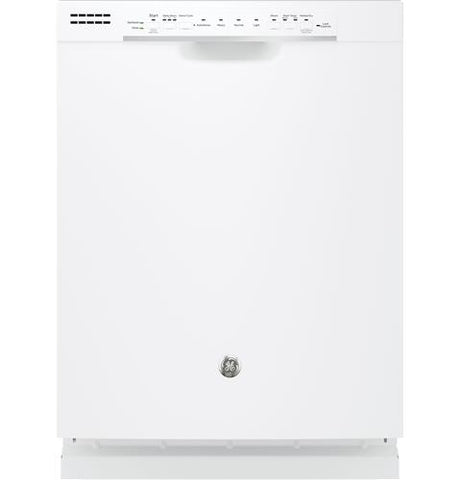 GE Steam 4 Cycle Dishwasher with Front Controls