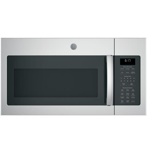 GE 1.7 Cu. Ft Over the Range Sensor Microwave Oven