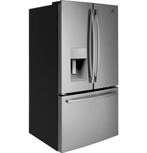 GE 25.5 Cu. Ft. French Door Refrigerator in Stainless Steel