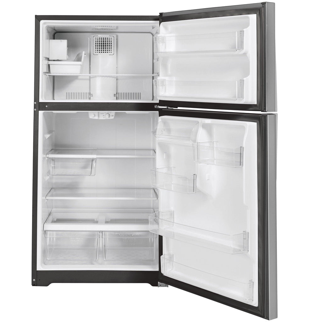 GE® EStar® 22 Cu Ft Top-Freezer w/ Icemaker Refrigerator