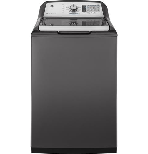GE 4.9 Cu. Ft. Capacity Washer with Stainless Steel Basket