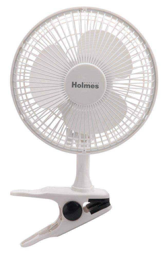 "Holmes 6"" Clip-on Table Fan"